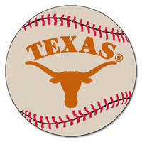Texas Longhorns NCAA Baseball Round Floor Mat (29)