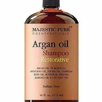 Hair Restoration with Argan and Moroccan Oil Non Sulfate Shampoo