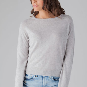 Line Georgette Sweater