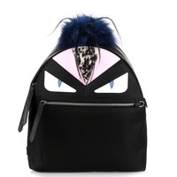 Bag Bugs nylon and fox-fur backpack | Fendi | MATCHESFASHION.COM US