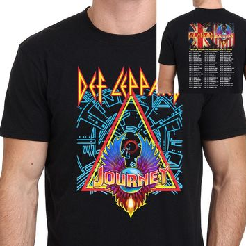 Def Leppard with Journey North American Tour 2018 T-Shirt