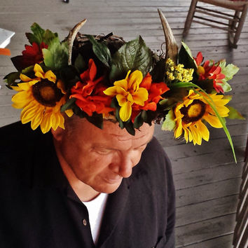 Autumnal Faun Crown