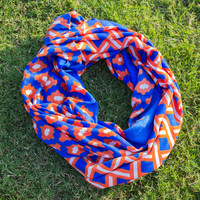 Game Day Scarf - Orange/Blue