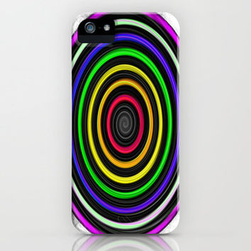 Sacred-Symmetry: Tunnel Of Love  iPhone Case by Mikey Todesco | Society6