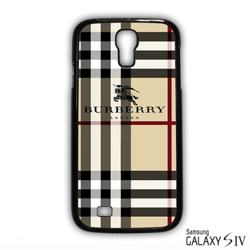 Burberry Pattern London for phone case Samsung Galaxy S3,S4,S5,S6,S6 Edge,S6 Edge Plus phone case