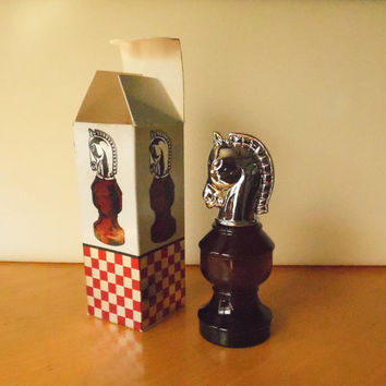 Vintage Avon SMART MOVE After Shave Cologne Bottle with Box