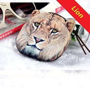 HOT SEAL Doge Coin Purse Creative Funny Lifelike Animals 3d Printed Little Gift