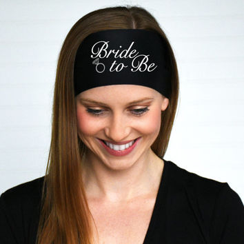 Bride To Be Headband | Bachelorette Headband | Bridal Shower Headband | Wedding Party Headband | Jack and Jill Party Headband | Bride