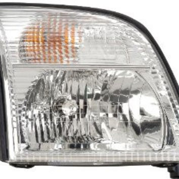 Mercury Mountaineer 02-05 Headlight  Assy Lh Head Lamp Driver Side Lh