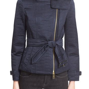 Burberry Brit Cranemore Short Belted Quilted Trench Coat LAVELIQ