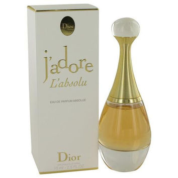 Jadore L'absolu by Christian Dior Eau De Parfum Spray 2.5 oz (Women)
