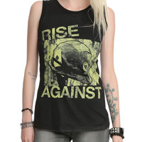 Rise Against War & Peace Muscle Girls T-Shirt 2XL