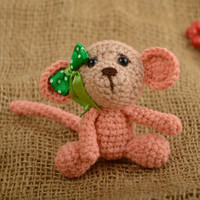 Baby dolls handmade soft toys hand-crocheted toys for babies handmade toys
