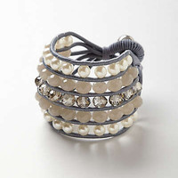 Anthropologie - Pearls & Stones Bracelet