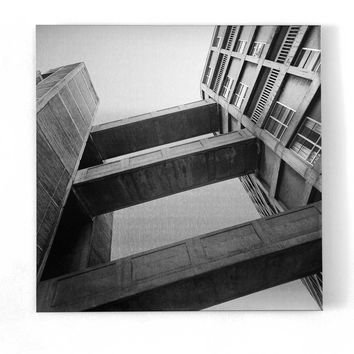 Park Hill Print by Simon Phipps
