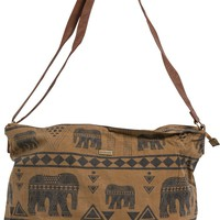 ELEMENT ANCHOR CANVAS SHOULDER BAG