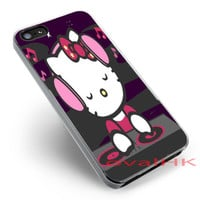 Dj hello kitty available for iPhone 4,4s,5,5c,5s Case and Samsung Galaxy S3,S4,S5 Case