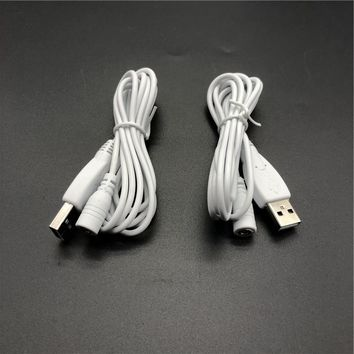 5V 1A USB Cable for Heated Insoles 5V DC Power Supply Cord Adapter Charger Cable DC 3.5mm*1.35mm