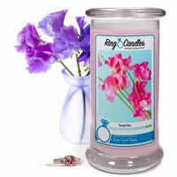 Sweet Pea | Ring Candle®