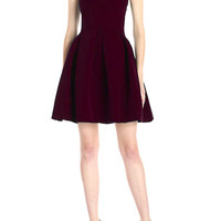 Cupshe Call Me Baby Solid Color Dress