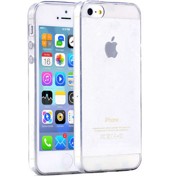 Ultra Thin 0.3mm Transparent Clear Case For Apple iPhone 5 5S SE Slim Colorful TPU Soft High Crystal Cover For iphone 5S Cases