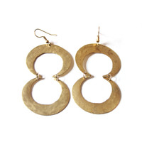 Crescent Infinity Earrings