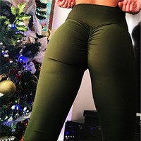 Fashion High Waist Sports Pants