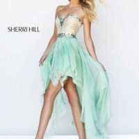 Sherri Hill Short Dress 1920 at Prom Dress Shop