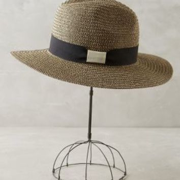 Flavia Rancher by Anthropologie in Black Motif Size: One Size Hats