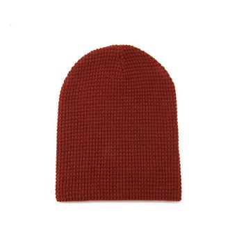 Knitted Wool Beanie Hat
