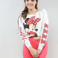 Mini Mouse Crop Sweatshirts