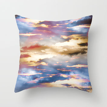 Combateur Throw Pillow by HappyMelvin Graphicus