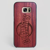 San Francisco Giants Galaxy S7 Edge Case - All Wood Everything