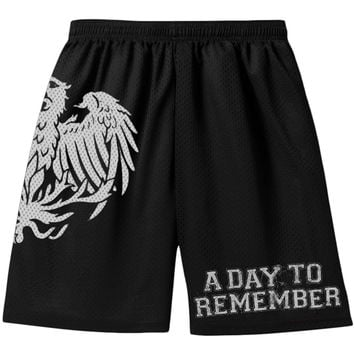 A Day To Remember Men's  Gym Shorts Black