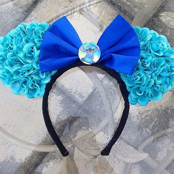 Stitch Themed Minnie Ears