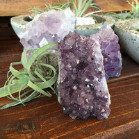 Cut Base Amethyst Druze