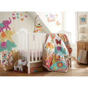 levtex baby zahara 5 piece crib bedding from toysrus