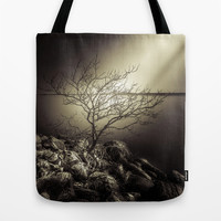 The burning bush Tote Bag by HappyMelvin