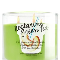 3-Wick Candle Nectarine Green Tea