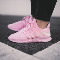 Adidas EQT Equipment Support ADV Primeknit Pink Sprot Shoes Running Shoes Women Casual Shoes BB1361