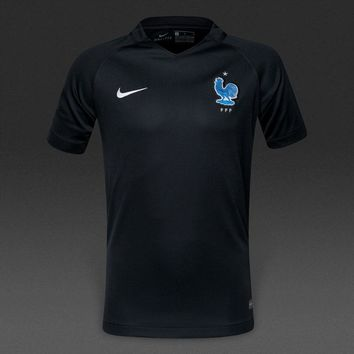 KUYOU France 2017/18 Third Men  Soccer Jersey Personalized Name and Number