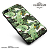 Cute Tropical Banana Leaf Pattern case cover for iphone, ipod, ipad and galaxy series