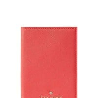Kate Spade New York Mikas Pond Passport Holder In Saffiano Leather