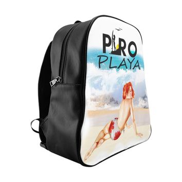 Limited Edition Vintage Pro Playa Leather Backpack