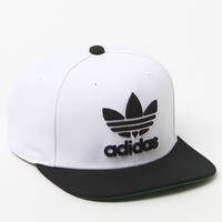 adidas Thrasher Two-Tone Snapback Hat - Mens Backpack - White - One