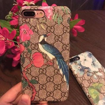 GUCCI iPhone Phone Cover Case For iphone 6 6s 6plus 6s-plus 7 7plus hard shell
