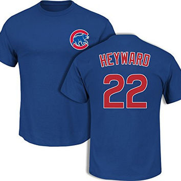 Jason Heyward Chicago Cubs Royal Youth Player T-Shirt by Majestic Select Youth Size: Large - 14/16