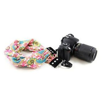 Kelsey Scarf Camera Strap - Capturing Couture - CASCARF-KELS