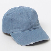 PacSun Destructed Denim Cap at PacSun.com