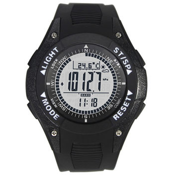 Multifunctional Sports compass watch with Altimeter Barometer Compass montre altimeter thermometer Weather Display
